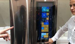 IFA 2016: Inteligentna lodówka z wbudowanym wielkim tabletem z Windows 10