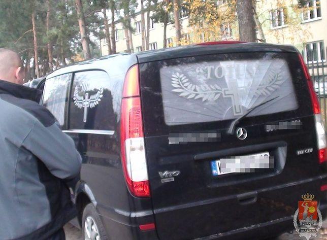 Skradziony w Belgii karawan znaleziono w Otwocku