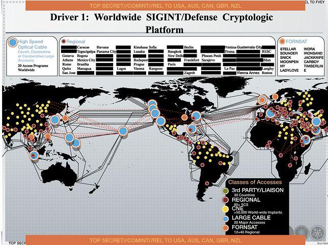 NSA zainfekowała ponad 50 tysięcy sieci komputerowych na całym świecie