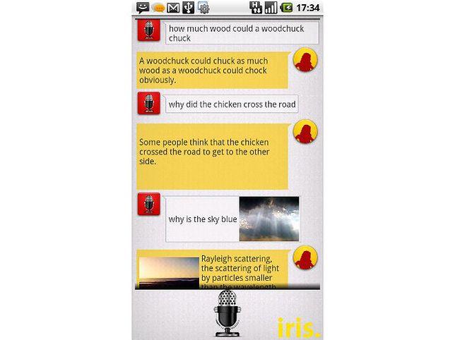 Iris - Siri dla Androida