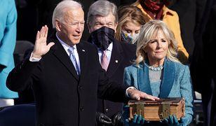 Inauguracja Joe Bidena. Znani politycy i celebryci na ceremonii zaprzysiężenia