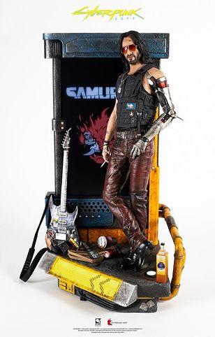 Cyberpunka 2077. Piękna figurka, ale kosztuje więcej od PlayStation 5