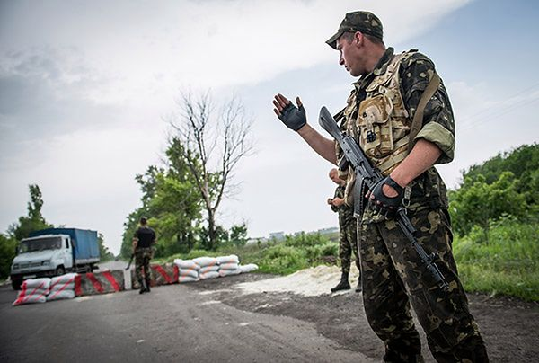 Separatyści ze Słowiańska napływają do Doniecka i Gorłówki