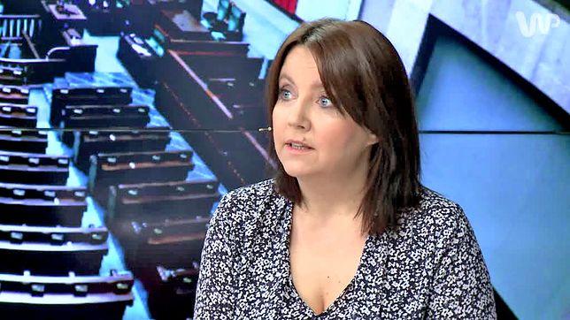 """Posłanka Joanna Lichocka o projekcie """"Zatrzymaj aborcję"""": nieludzki. Jest reakcja Kai Godek"""