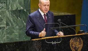 """Sesja ONZ. Erdogan: """"Nie mamy już potencjału ani tolerancji, aby przyjmować kolejne fale migrantów"""""""