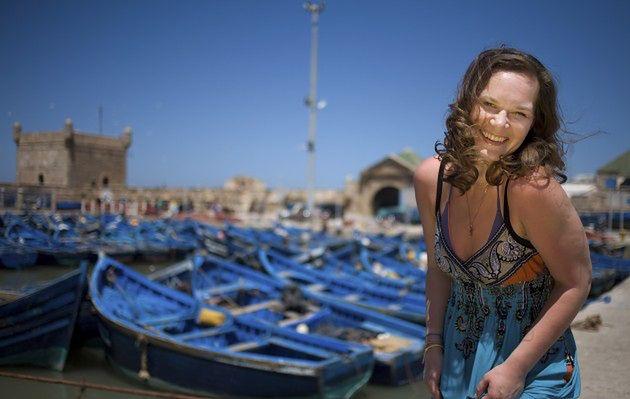 Marysia Seweryn i Maroko