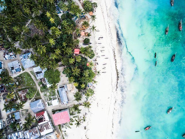 Bajeczne plaże Zanzibaru