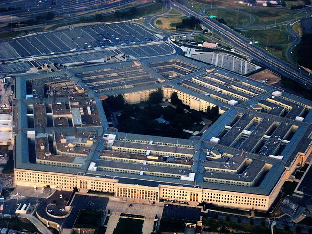Widok na pięciokątny Pentagon
