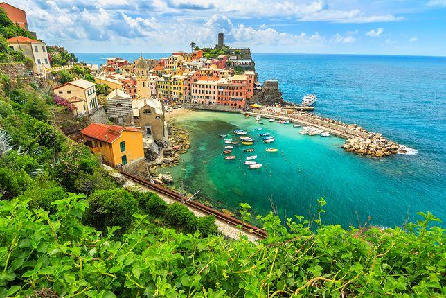 Widok na piękną Ligurię