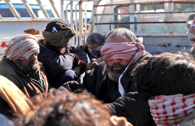 Wśród poddających się terrorystów z ISIS jest wielu cudzoziemców