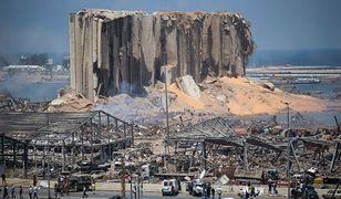 Zniszczenia po wybuchu w Bejrucie są ogromne