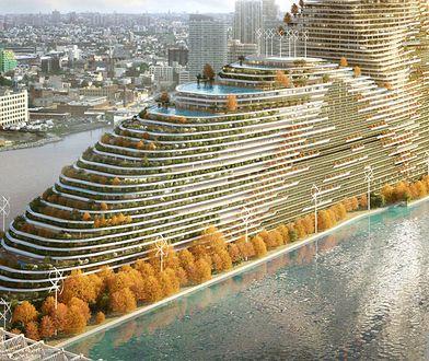 Tak mógłbym wyglądać nowy wieżowiec w Nowym Jorku według paryskiego biura architektonicznego