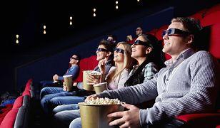 kino, popcorn, widownia