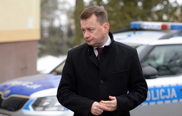 MSWiA: Mariusz Błaszczak zwołał pilną naradę w BOR