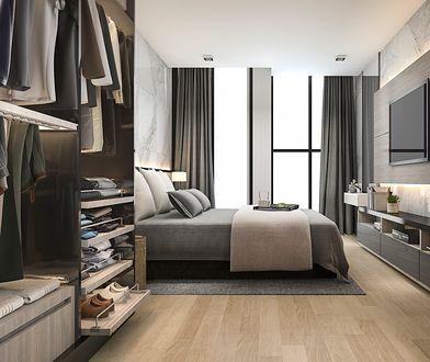 Garderoba w sypialni – funkcjonalne rozwiązania