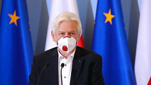 Koronawirus. Prof. Andrzej Horban: stoki to nie mają być miejsca pogrzebowe
