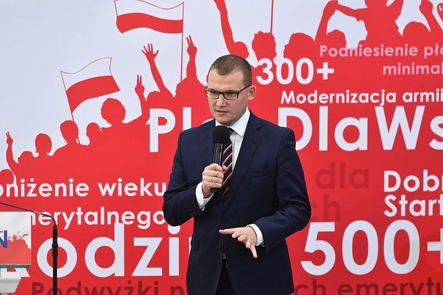 """Paweł Szefernaker mówił też m.in. o reportażu """"Superwizjera"""" o Beacie Szydło"""