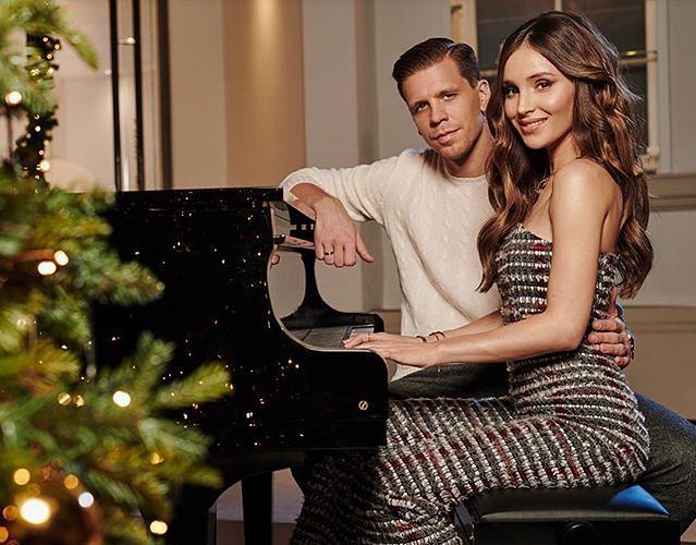 Marina i Wojtek pokazali świąteczne zdjęcie. Luksus i przepych!
