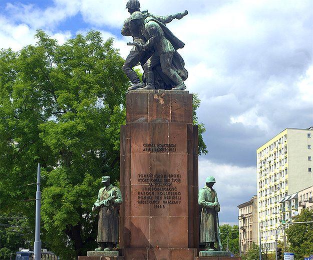 Pomnik Braterstwa Broni od strony południowej (2010 r.)