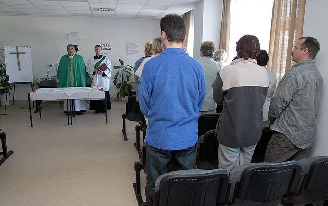 Msza w szpitalu