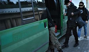 Pogranicznicy z Bieszczad zatrzymali grupę nielegalnych imigrantów