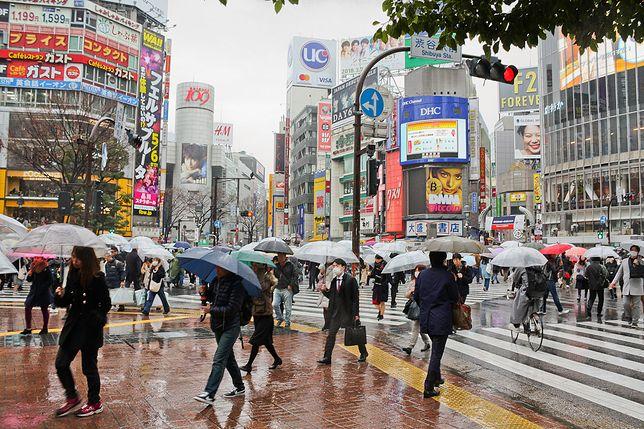 Ranek na ulicach Tokio