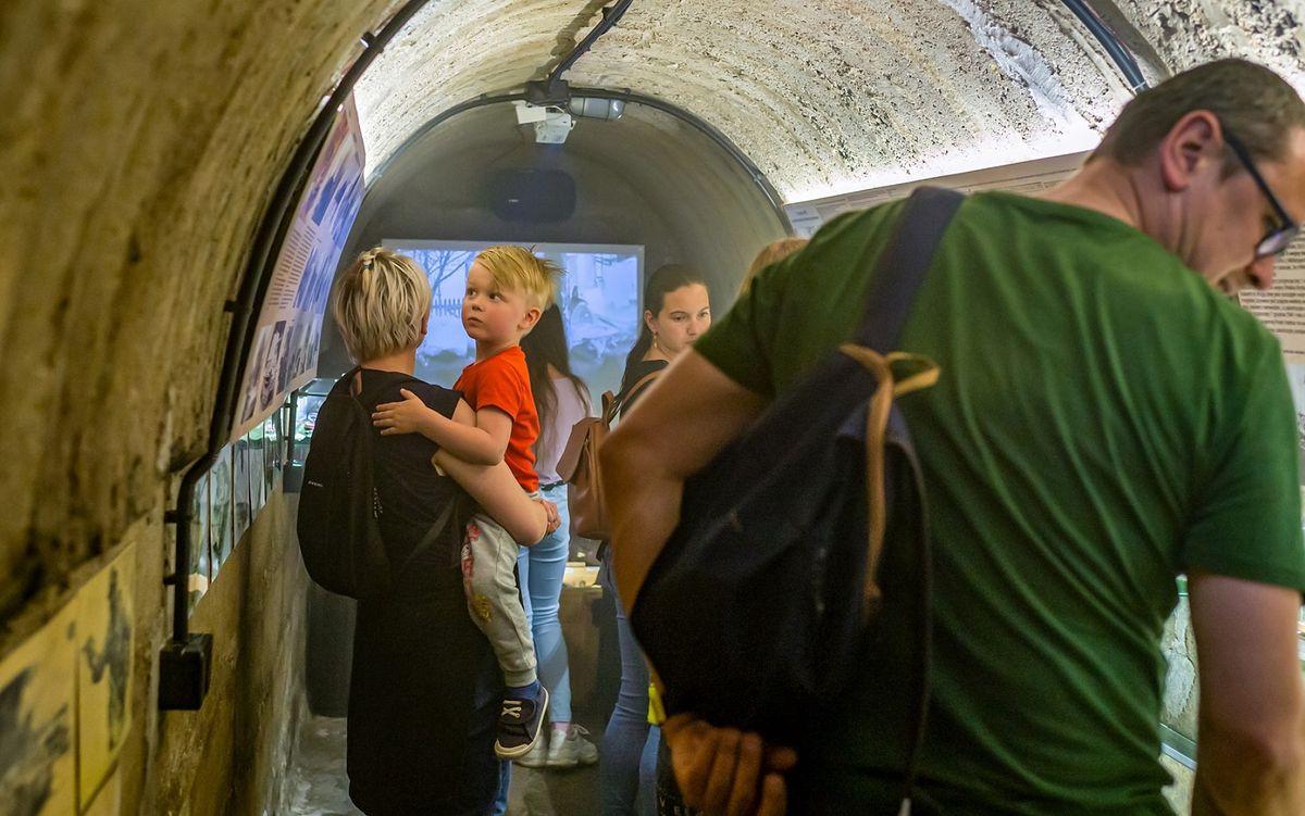 Śląskie. Schron w Bytomiu Miechowicach znów był dostępny dla zwiedzających.