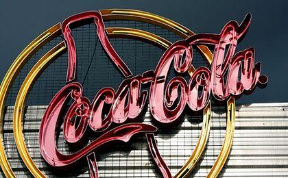 Butelka Coca-Coli z trzciny cukrowej. Jest w 100 procentach ekologiczna