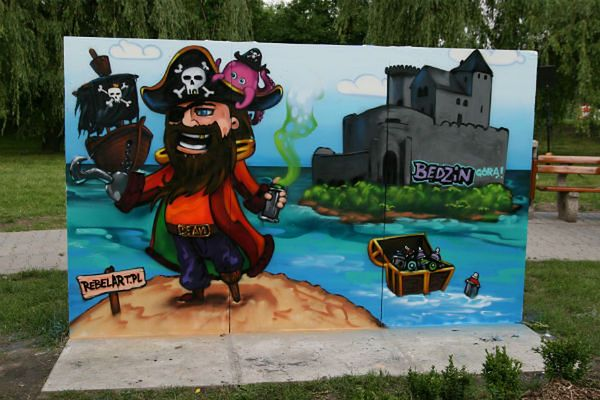 Bitwa Graffiti w Będzinie! Nie możesz tego przegapić!