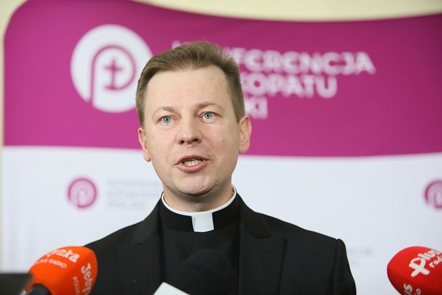 Rzecznik Episkopatu ks. Paweł Rytel-Andrianik