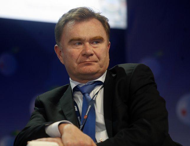 Na zdjęciu Krzysztof Pawiński, prezes spółki Maspex, która produkuje Tigera