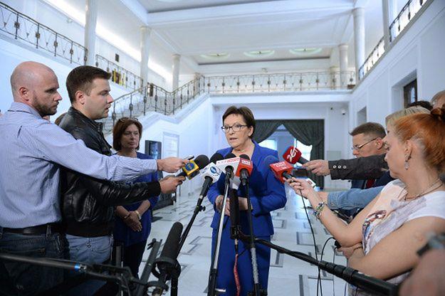 Ewa Kopacz: na wtorkowym posiedzeniu klubu szczera rozmowa, a nie ścinanie głów