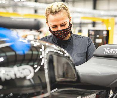 Norton znowu produkuje motocykle. Ruszyła nowa fabryka