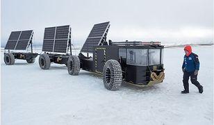 Solar Voyager ma podwozie zbudowane z plastikowych butelek.