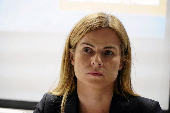 Joanna Schmidt odpiera zarzuty byłego męża