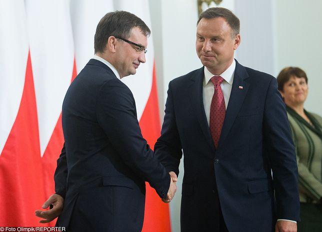 Zbigniew Ziobro i Andrzej Duda
