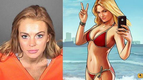 Lindsay Lohan pozywa twórców GTA V?