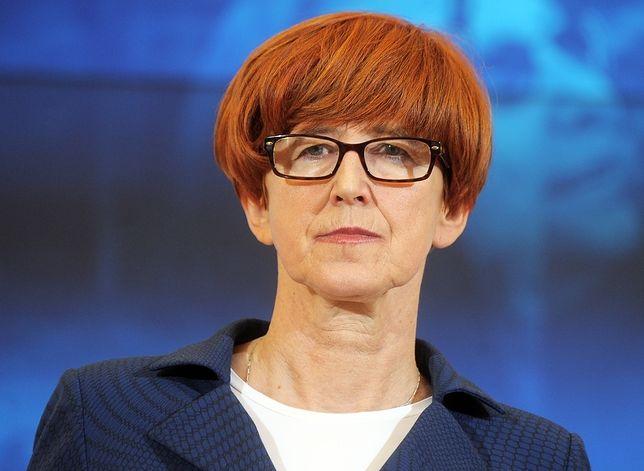 Elżbieta Rafalska musi tłumaczyć się z projektu tzw. ustawy antyprzemocowej