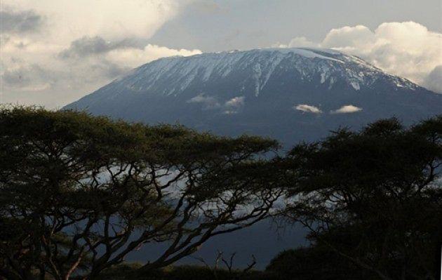 Topnieją lodowce na Kilimandżaro