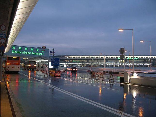 Widok na Terminal nr 1 portu lotniczego Tokio-Narita