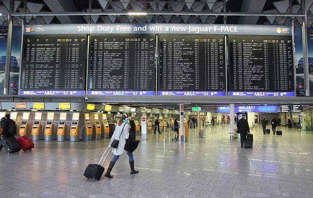 Z lotniska we Frankfurcie można w prosty sposób dostać się do centrum miasta