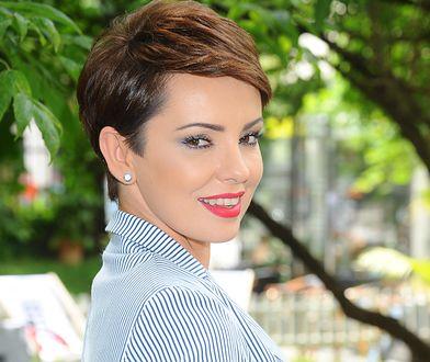 Dorota Gardias na jednej z imprez branżowych