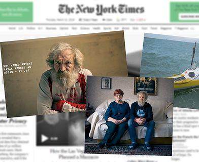 """Artykuł o polskim podróżniku w magazynie """"The New York Times"""""""