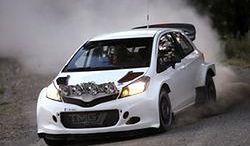 Testy Toyoty Yaris WRC