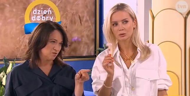 Ewa Drzyzga i Agnieszka Woźniak-Starak przetestowały masaż twarzy kamieniem.