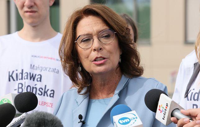 """Małgorzata Kidawa-Błońska nie chce lewicowego """"Paktu dla Kobiet"""""""