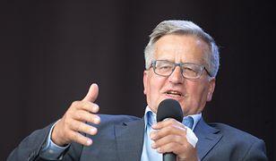 Incydent podczas lotu prezydenta Dudy. Bronisław Komorowski komentuje