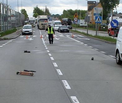 Śląskie. Jedno auto się zatrzymało, drugie nie. 12-latek w Żorach potrącony na pasach