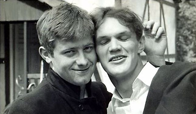 """1986 - """"początek wielkiej przyjaźni między dwoma młokosami""""."""