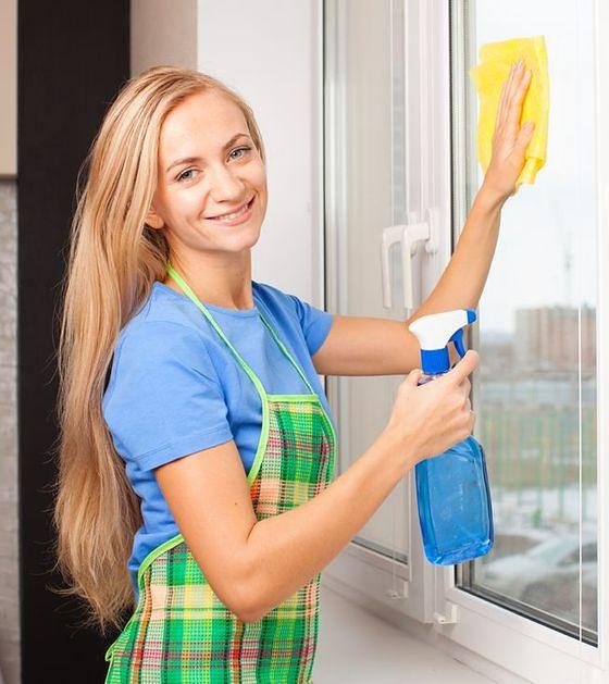 Myjesz okna w słoneczny dzień